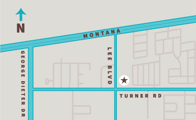 Lee and Turner Storage Facility Location